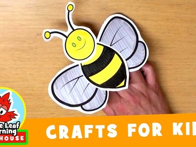 Bee Craft for Kids | Maple Leaf Learning Playhouse