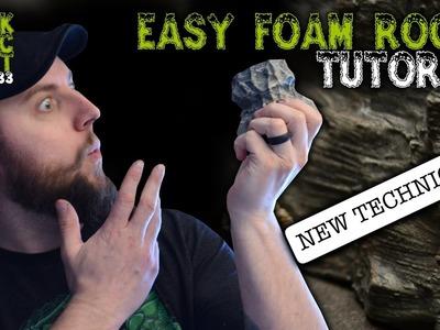 Better Looking Big Rock Terrain For D&D Tutorial (Black Magic Craft Episode 033)