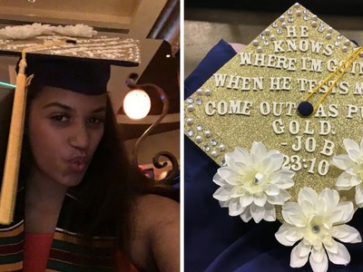 Craft Corner: Decorating My Graduation Cap