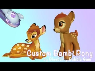 Custom BAMBI MLP pony tutorial || DIY