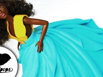 Designer Doll Cake | Dahlia |  DIY & How To | Fashionista Barbie Ideas | Fashion