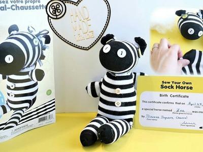 DIY Animal Stuffed Plush Using Socks | Sew Your Own Sock Horse