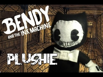 DIY Bendy Plushie with interchangeable Face! BATIM Sock Plushie.TUTORIAL.