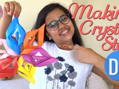 DIY Craft & Art for Kids - How to make a CRYSTAL STAR