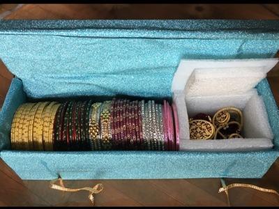 DIY | Craft - #bestoutofwaste #DIY #Bangle Box and a #tip to #storage woolen garments | Episode - 12