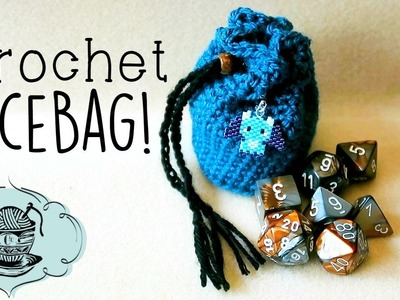 DIY Crochet Dice Bag!. Geeky Crafting. ¦ The Corner of Craft