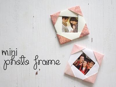 DIY: Cute Mini Photo Frame