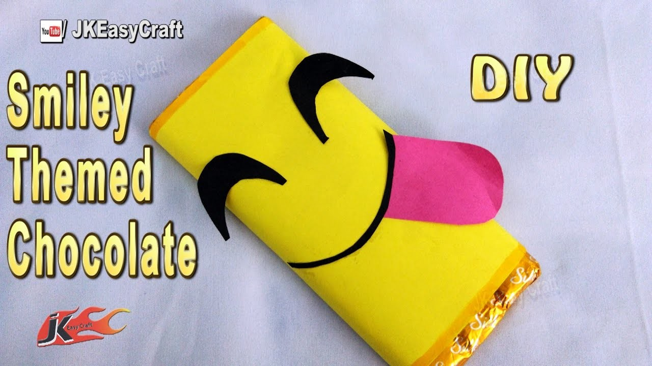 DIY Emoji Chocolate Gift wrapping | JK Easy Craft 217
