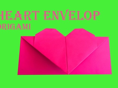 DIY Father's Day Origami Gift ???? How to make Lovely ENVELOPE with Heart ????| Step by Step tutorial