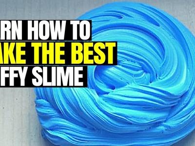 DIY FLUFFY SLIME! HOW TO MAKE THE BEST SLIME | HOW TO MAKE THE ULTIMATE FLUFFY SLIME |HOW TO MAESTRO