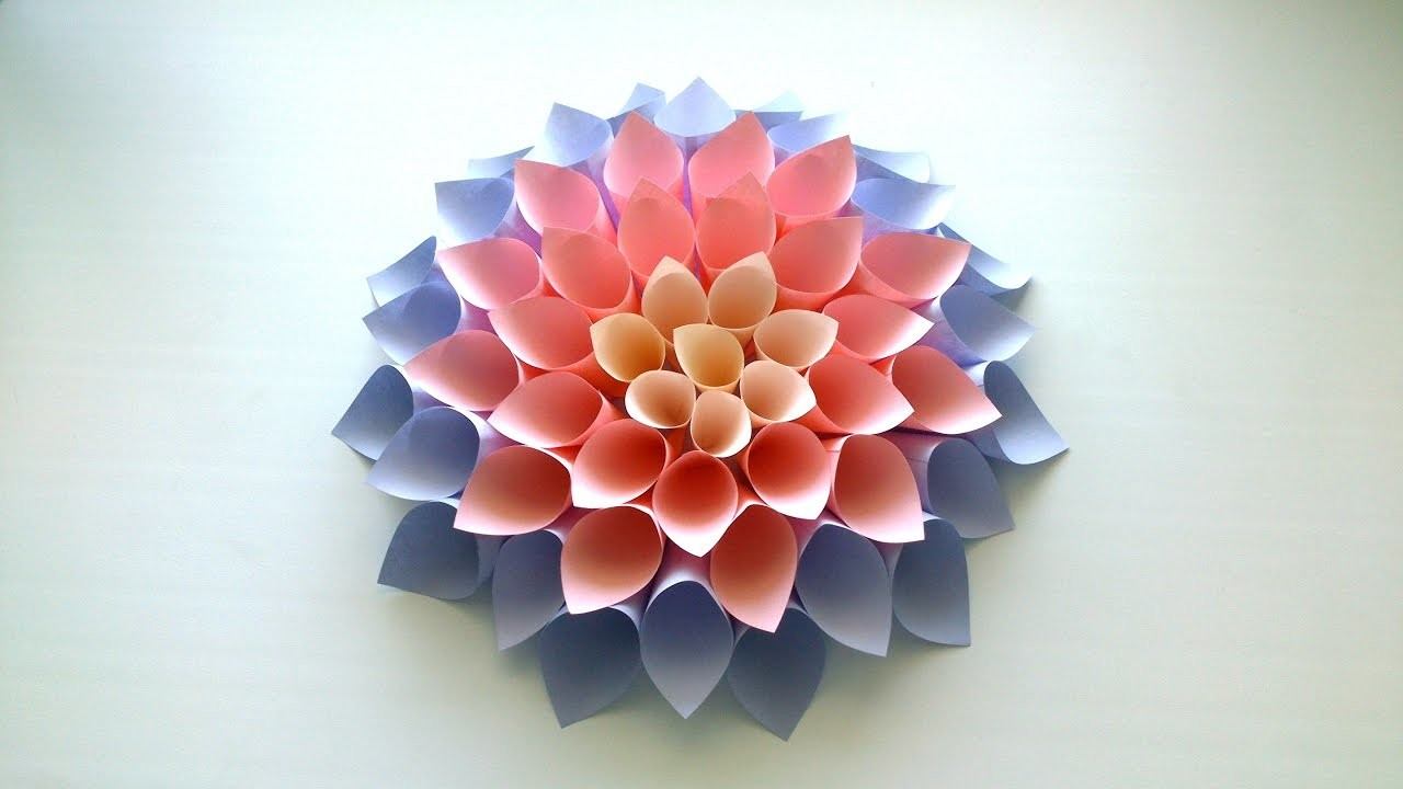 How To Make Origami Flowers With Paper