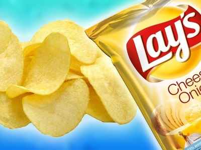 DIY | How to Make Chips with Cheese for 2 min.
