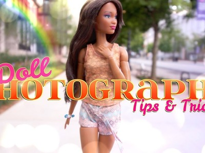 DIY - How to Make:  Dollar Store Quick Craft PLUS | Doll Photography Tips & Tricks