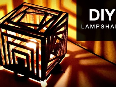 DIY Lampshade Tutorial | Home Decor | How To Make A Lampshade | Lanterns - Anushree's Craft TV