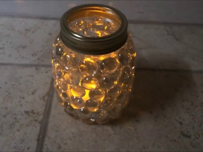DIY: mason jar light (easy craft idea)