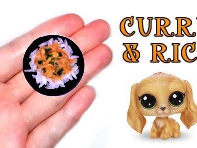 DIY Miniature Dollhouse Rice & Curry ????