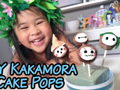 DIY Moana Kakamora Brownie Cake Pops   How to Make Moana Cake Pop Recipe Tutorial!   Moana Birthday