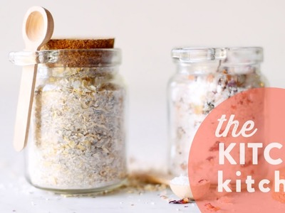 DIY Mother's Day Bath Salts. The Kitchy Kitchen