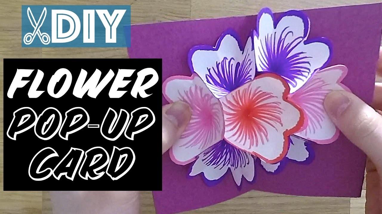 DIY: Mother's Day Flower Pop-Up Card