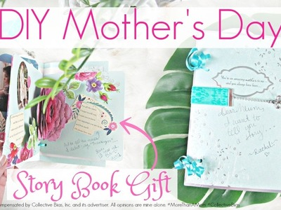 DIY Mother's Day Story Book Gift Tutorial
