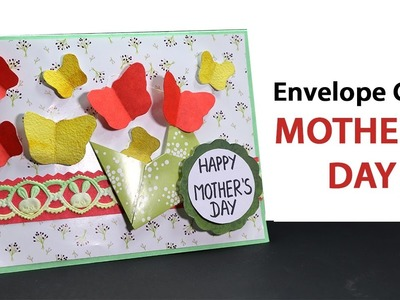 DIY Mothers Day Envelope Card Making, DIY Mother's Day Gift Ideas