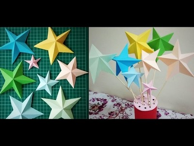 DIY Paper Craft | How to make a Paper Star