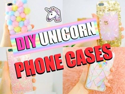 DIY PHONE CASES YOU'LL ACTUALLY LOVE - SLIME CASE, UNICORN SKIN CASE????????