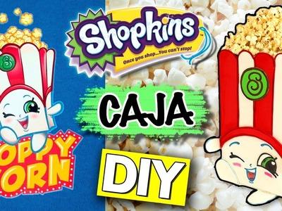 DIY Poppy CORN SHOPKINS in REAL LIFE * Caja de PALOMITAS de cine POPPY CORN ✅  Top Tips & Tricks