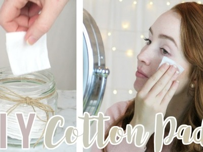 DIY Reusable Cotton Pads.Cotton Rounds   Waste Free   P❁SY-TIVE VIBES