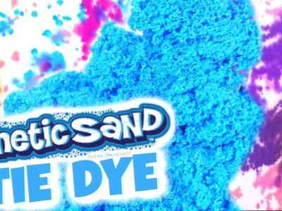 DIY Tie Dye with KINETIC SAND - SoCraftastic