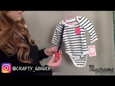 DIY Tutorial: Handmade Macrame Baby Pacifier Leash