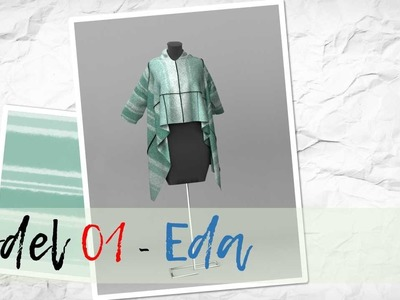DIY tutorial - MODEL EDA (stretchy fabrics)
