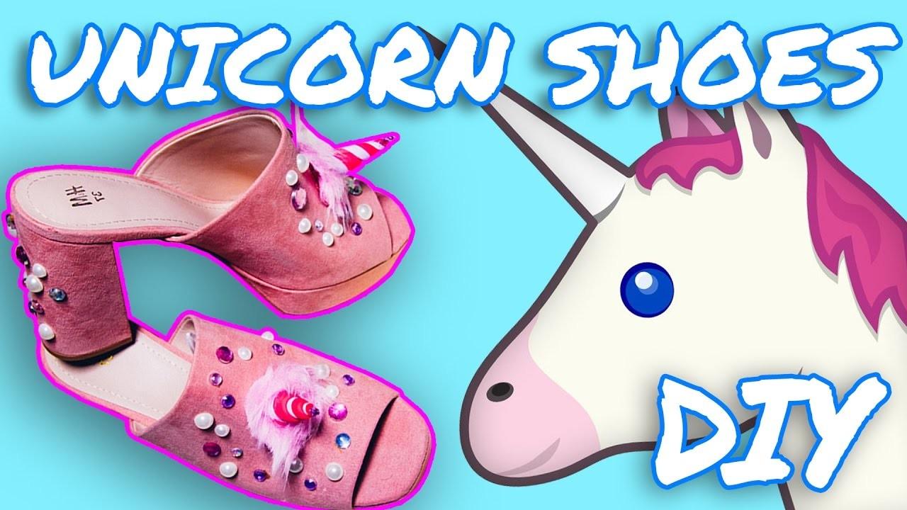 DIY Unicorn Shoes Tutorial. Do It Your Damn Self | HISSYFIT