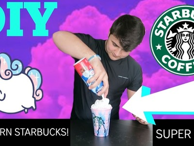 DIY UNICORN STARBUCKS DRINK! *NOT SOUR OR GROSS*
