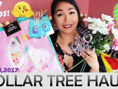 DOLLAR TREE HAUL!! SUMMER TOTES, CRAFT PUNCHERS, LOVE DISPLAY + MORE! | MAY 18, 2017 #37