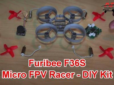 Furibee F36S DIY Micro FPV Quadcopter Kit Review