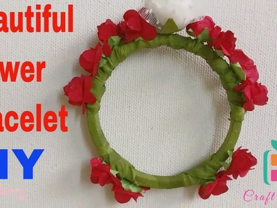 How to make a Beautiful Flower Bracelet DIY in 3 Easy Steps