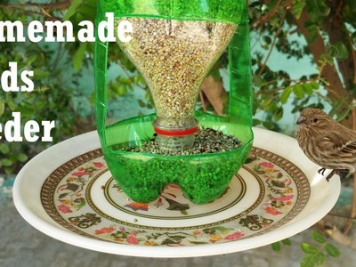 How To Make A Bird Feeder | DIY Homemade Plastic Bottle Bird Feeder