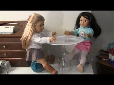 How to Make a  Doll Table (Dollar Store Craft)