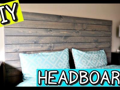HOW TO MAKE A HEADBOARD | PINTEREST DIY