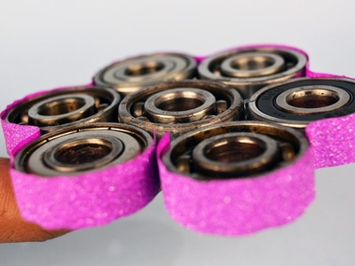 How to make a Reversible FIDGET SPINNER | DIY FIDGET SPINNER