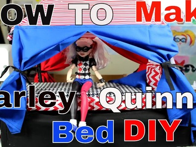 How To Make Harley Quinns Bed | DIY