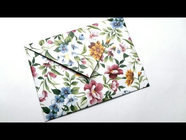 How to Make Origami Envelope. Easy Paper Envelope. Paper Craft. Beautiful Envelope.