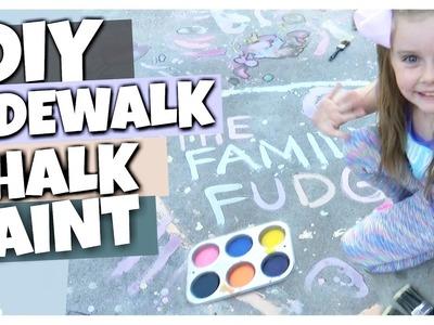 How To Make Sidewalk Chalk Paint || DOLLAR TREE Kids Craft