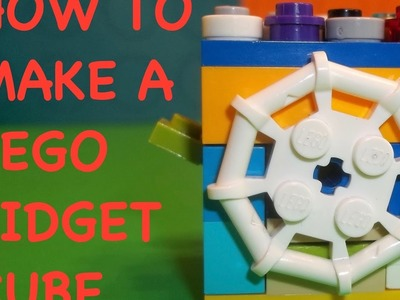How to make your own Lego Fidget Cube -- DIY tutorial