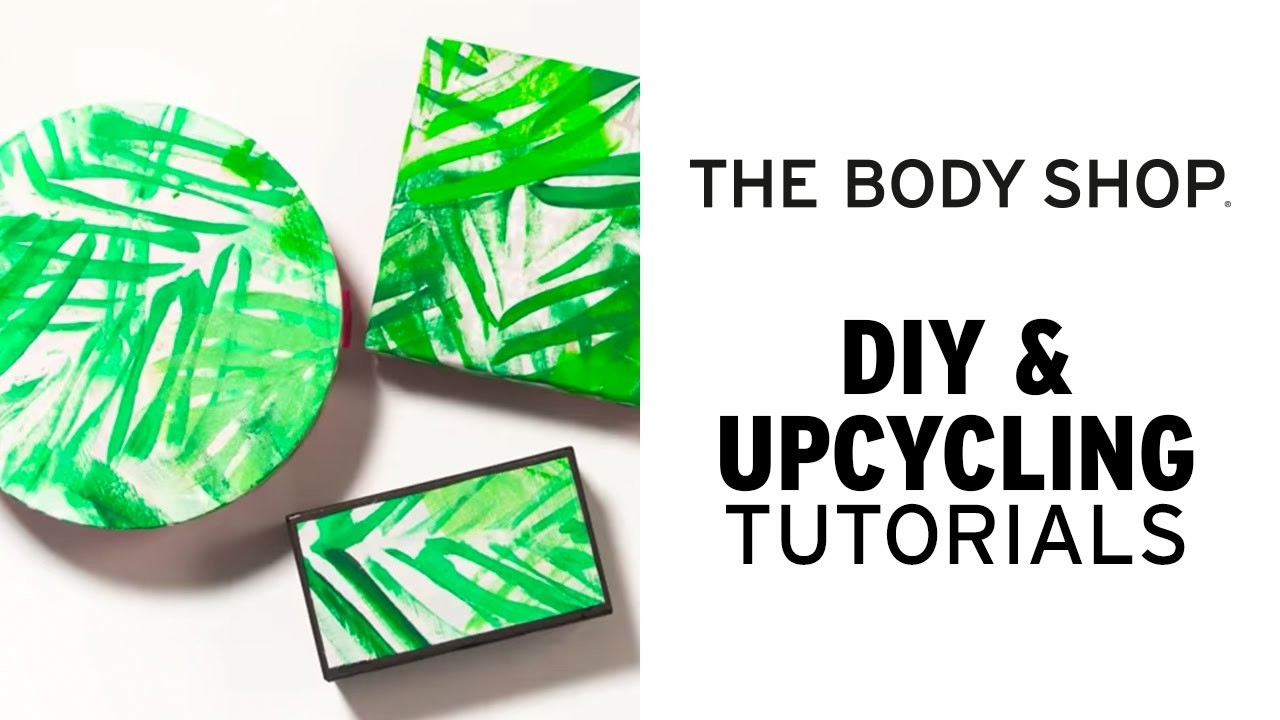 HOW TO TRANSFORM ANY BOX WITH FABRIC | DIY & UPCYCLING | THE BODY SHOP