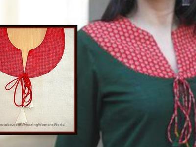 Latest Designer Kurti   Kameez Cutting & Stitching  step by step DIY