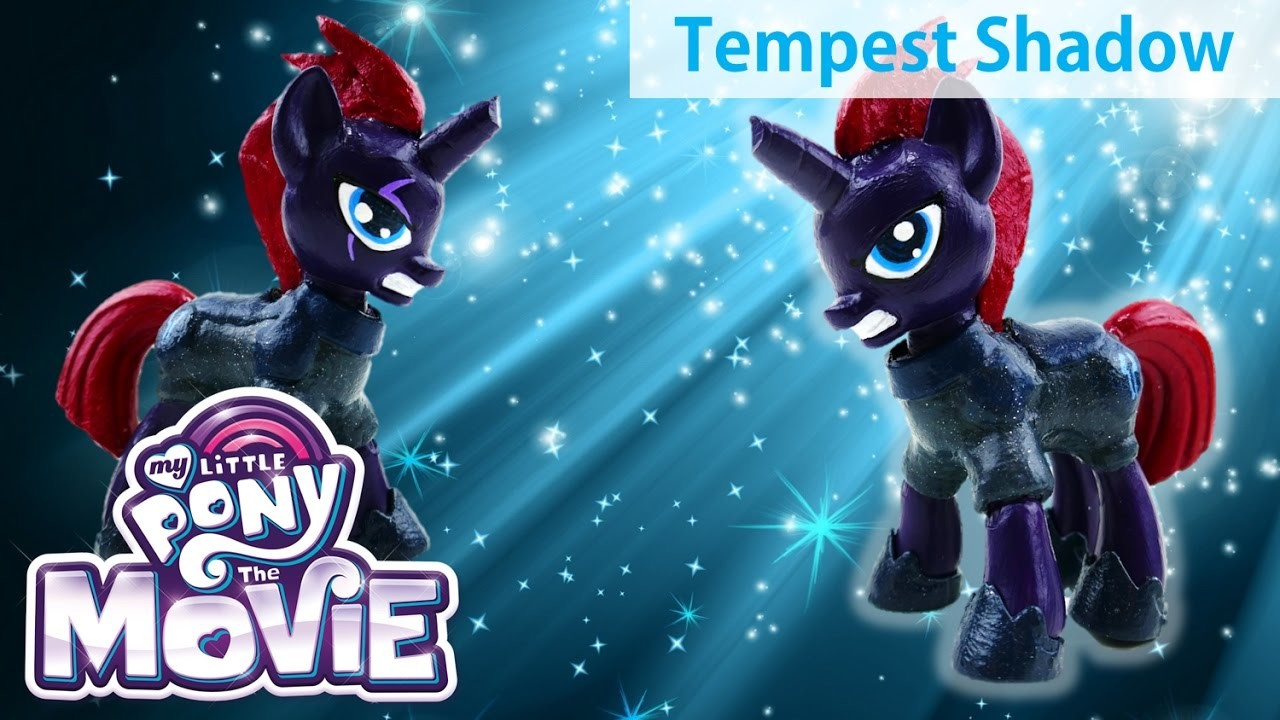 My Little Pony The Movie (2017) Tempest Shadow Custom Pony DIY Doll Tutorial