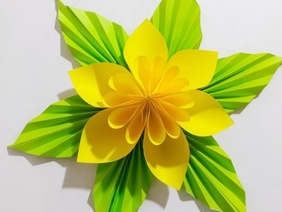 Origami Flower Easy paper flower | 2017 Easy Step |Paper Craft Ideas