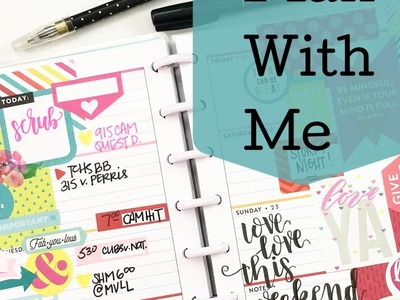 Plan With Me: April 17-23, 2017 {mini Happy Planner® Style!}